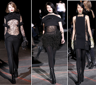 Looks góticos Givenchy 3 2010/2011
