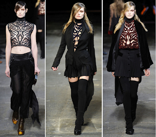 Looks góticos Alexander Wang 2010/2011