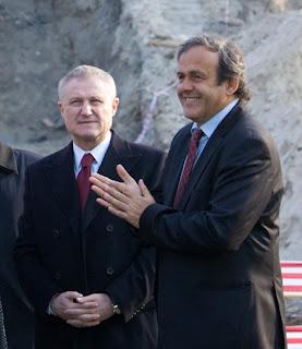 Surkis, Platini