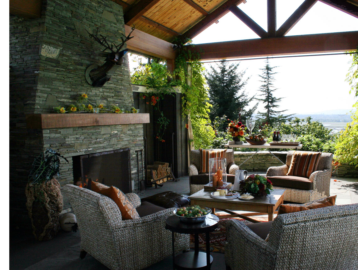 Backyard designs backyard designs some creative ideas for Covered back porch ideas