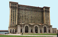 Michigan Central Rail Station