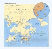 Em Hong Kong, por causa do problema do espaço, os apartamentos são . (hong kong map )