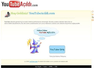 youtube açıldı, youtube proxy, youtube gir