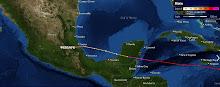 Conoce la trayectoria de Huracanes y Tormentas