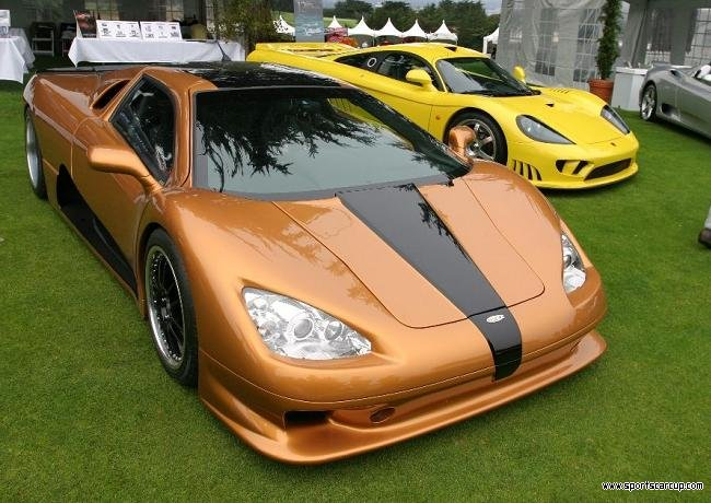 The 2009 SSC Ultimate Aero