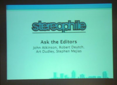 Stereophile Ask The Editors - Salon Son & Image 2010