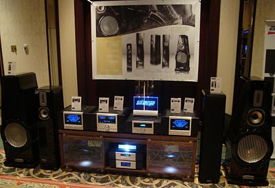 Aurum Speakers and Advance Acoustic electronics