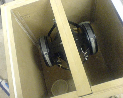DIY Isobaric Sixth Order Bandpass Subwoofer Box
