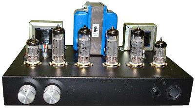 5751 SRPP - EL84 (6BQ5) Push-Pull Tube Amp