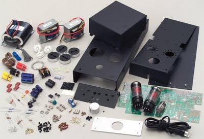 Elekit TU-879S 6L6 Tube Amp Kit Parts