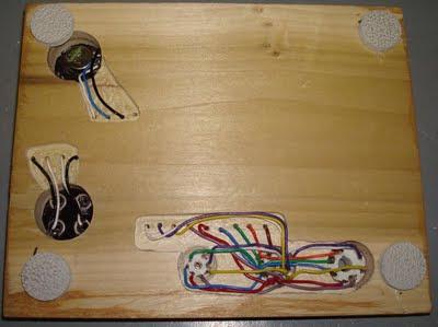 DIY Valve Prototyping Board Underside