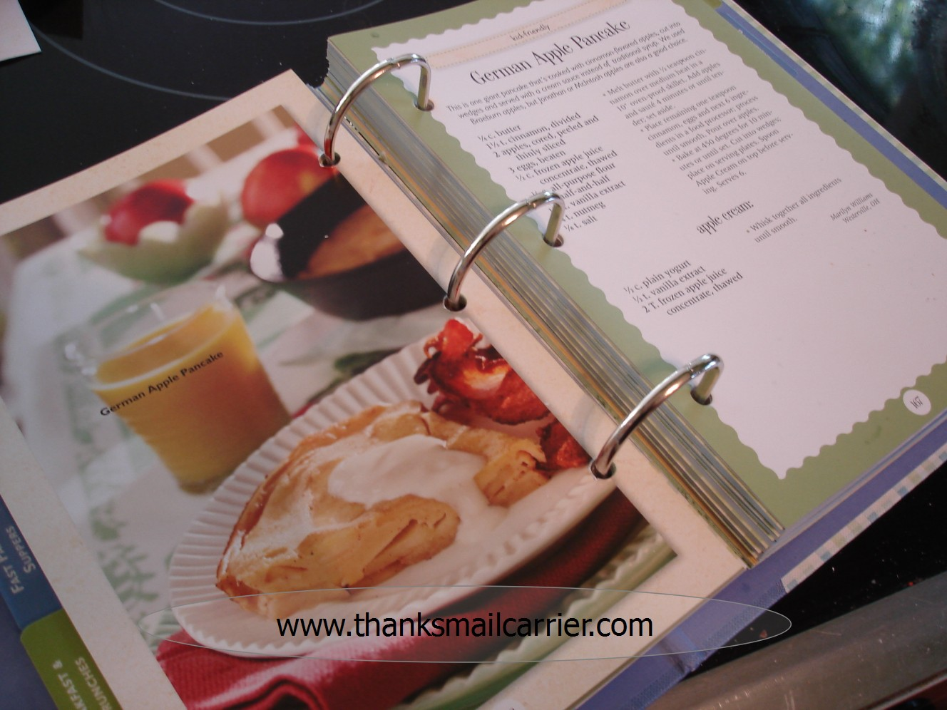 thanks mail carrier gooseberry patch keepsake cookbook review