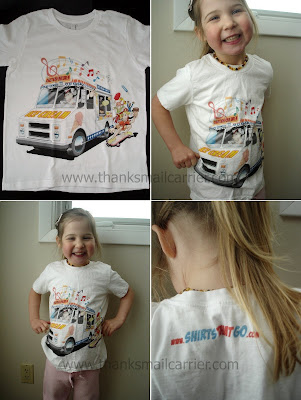 ice cream truck shirt