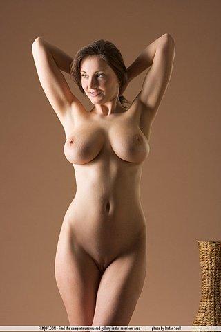 Cute nude blonde milf