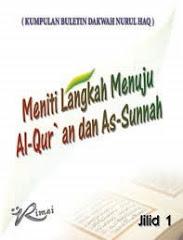 Buku Meniti Langkah Menuju Al-Quran dan As-Sunnah