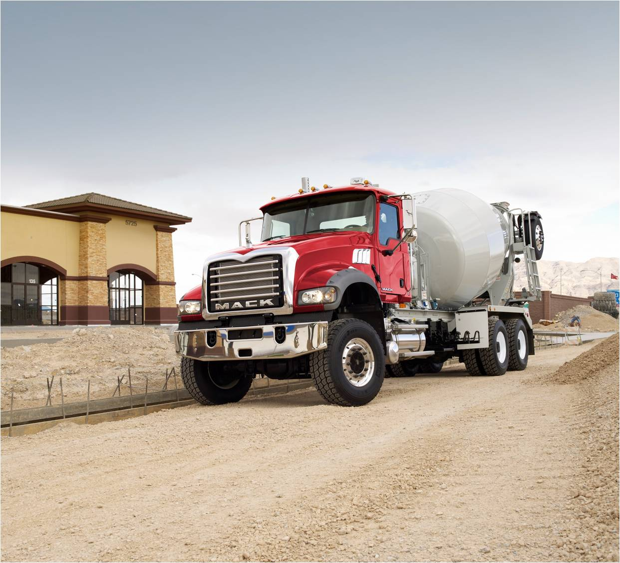 Mack Truck Cement Mixer : Concrete industry management cim program january