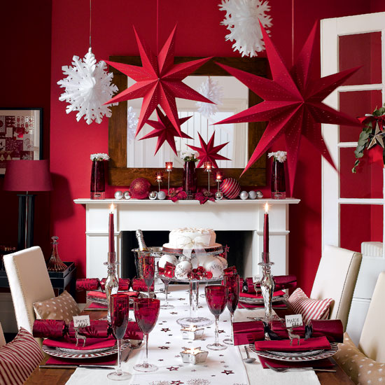 Dining Table: Dining Table Decorating Ideas For Christmas