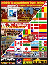Campeonato Nacional Clasificatorio al IV Campeonato Mundial de Artes Marciales Uruguay 2010