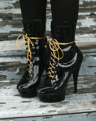 I am in love with these Super high sexy Stripper boots!