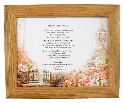 wedding poems for sister