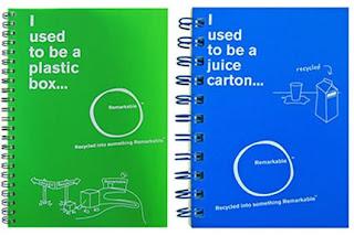 Cuadernos reciclados