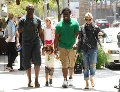 heidi klum and seal family. Heidi Klum Seal and family