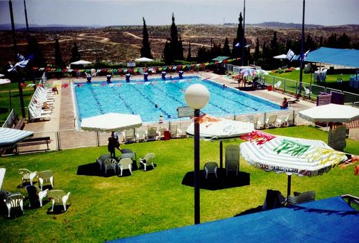 Ariel Settlement Swimming  Pool - Water use is 83% Israeli