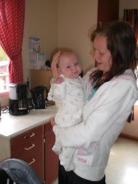 Tante Hanne og meg