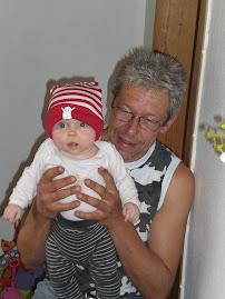 Bestefar Bjørn og meg