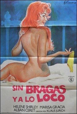 sin+bragas+y+a+lo+loco Sin bragas y a lo loco (1982) [Castellano] [Dvd Rip] [Erotica]