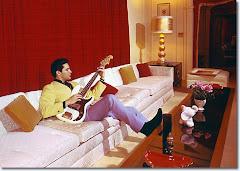 Elvis in Graceland March 1965