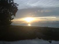 Sunset - 'scene' diambil dari Taman Damai Layangan, Labuan