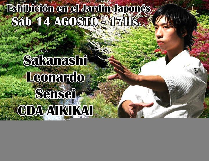 Infoaikido exhibicion de aikido jard n japon s for Jardin 32 neuquen