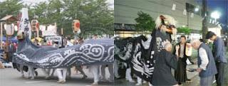 ながい黒獅子祭り