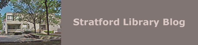 Stratford Library Blog