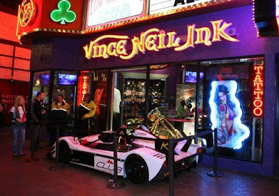 times square gossip vince neil ink stops in las vegas nevada