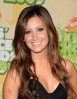brunette with blonde highlights. hair londe highlights