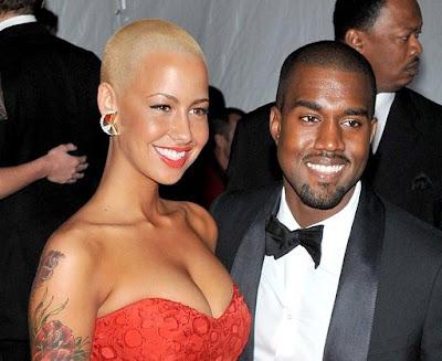 amber rose kanye. Amber Rose And Kanye West