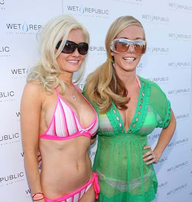 holly madison pool