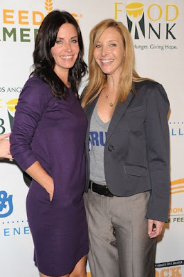 Courteney Cox-Arquette And Lisa Kudrow