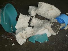 el día 8 enero en la Guanchia después del violento desalojo