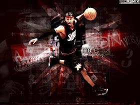 Basketball Wallpaper Allen Iverson Black Custom Wallpaper 14
