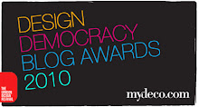 Shortlisted for Best Independent Blog by Mydeco