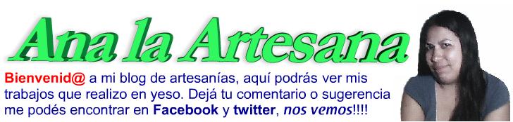 Bisuteria y Artesanias - Ana La Artesana