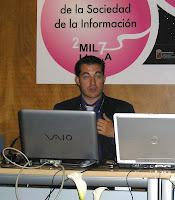 Miguel Ángel Morcuende durante la conferencia en SICARM. Pincha en la imagen para ver más fotografías