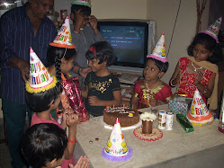 The Brat's birthday party on December 14