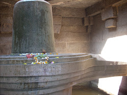 The great Shiva linga next to Narasimha