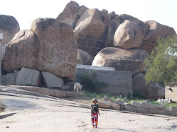Rock pile near ganapati temple