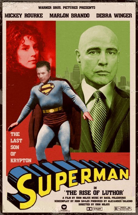 superhero movie posters from another dimension