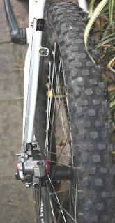 Adaptação para freio a disco traseiro na Trek 820, foto 2